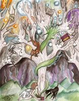 The Ancestral Tree by TheRavensLetters