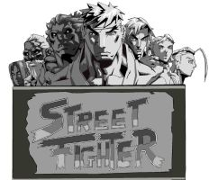Street fighter state in stone by kingfret