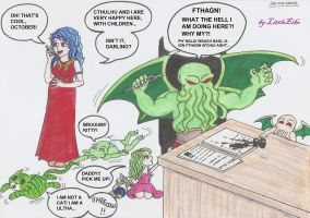 Cthulhu's Family(basado de Cthulhu Saves the World by LittleEiko87