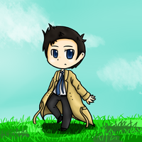 Chibi Castiel by Feather482322