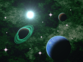 Planet System Background by Airceltrai