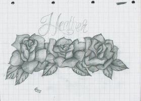 rose design for DayZe777 by 12KathyLees12