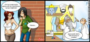 Living with Hipstergirl and Gamergirl #114 by JagoDibuja