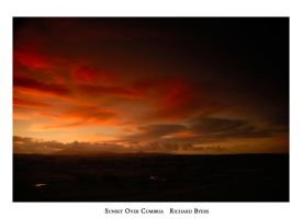 Sunset Over Cumbria by richsabre