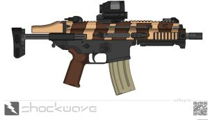 FN SCAR PDW by Shockwave9001