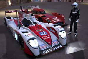 New Nissan race car by macaustar