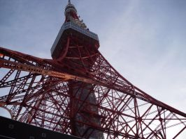 Tokio Tower by RoseoftheOcean