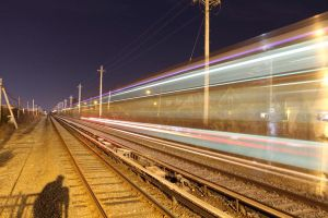 Transit in Motion I by gregpessphotography