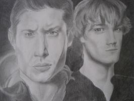 The Winchester Brothers by WeissLupus