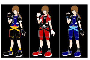 Female Sora DriveForms by CADFND
