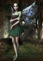Forest Faerie by joannastar