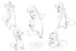 Nothing Doodles by Nixhil