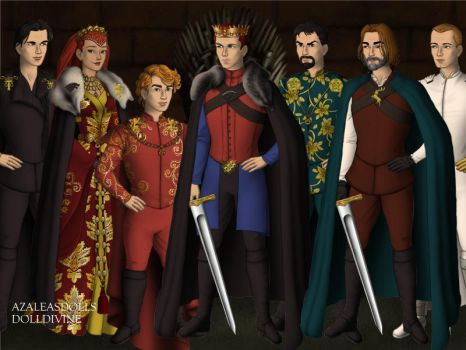 King Robb Stark's Small Council by dehlinger2032