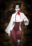 Commission: Tenten vampire by MSonia