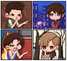 Resident Evil: Doodle collection by Alouisse-Ver