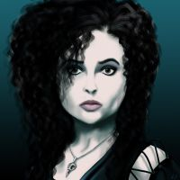 Bellatrix Lestrange by IceGreyEyes