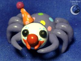 Clown Spider by SmilingMoonCreations