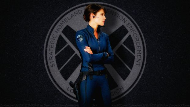 Cobie Smulders Agent Maria Hill II by Dave-Daring