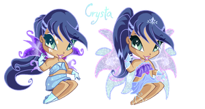 Crysta , Pixie of Reflections ! by ilir21