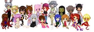 .:COLLAB: DONE:. My animal side by doris4u