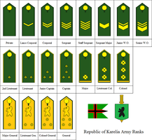 Ranks of the Karelian Army by kyuzoaoi