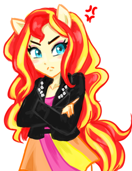 Sunset by BBQgoth