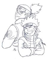 Naruto, Brothers by AmyClark