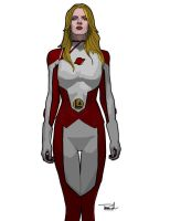 Saturn Girl by tsbranch