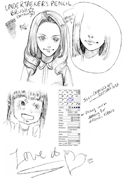 PAINT TOOL SAI PENCIL BRUSH (No Download) by duskyu