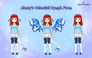Alessy's Celestial Nymph Form by FairyAurora