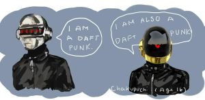 Daft Punk by chakupuchi
