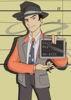 L.A. Noire Lineup Series: Roy Earle, AD-VICE by OtokoNoShufu