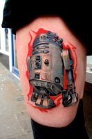 r2 d2 by sass-tattoo
