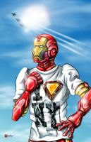 Iron Man Loves New York by ginger-roots