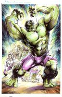 Incredible Hulk by Cinar