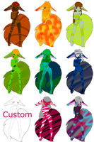 new fluffy tail adopts by oOChaosKruemelOo