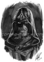 INKtober 2015 Day 6: Assassin's Creed by tedwoodsart