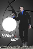 Phoenix Wright is 007 by maridosmangas-2001