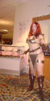 Red Sonja get ready at DC'09 by Cliffather