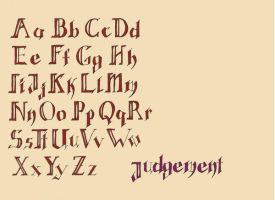 Tarot Font by TheMightyPegasus