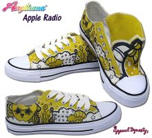 Apple Radio Low Tops by marywinkler