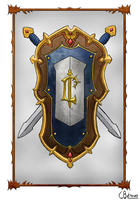 Royal Crest of Lordaeron by CBdraws