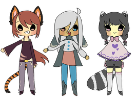 Palette Adopts for SetaChan by BananaBread9112
