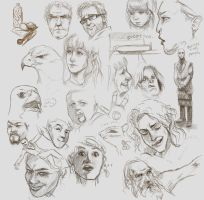 Life sketches by lord-phillock