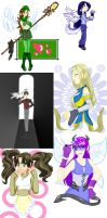 OLD 2007: GAIA commissions xD by JadineR