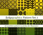 Pattern Set 2 by fudgegraphics