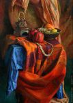 Still life with indian draper by shvayba