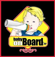 baby on board by stitchDESIGN
