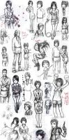 Another Sketch Dump by Linaku