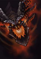 Deathwing_Cataclysm by LasloLF